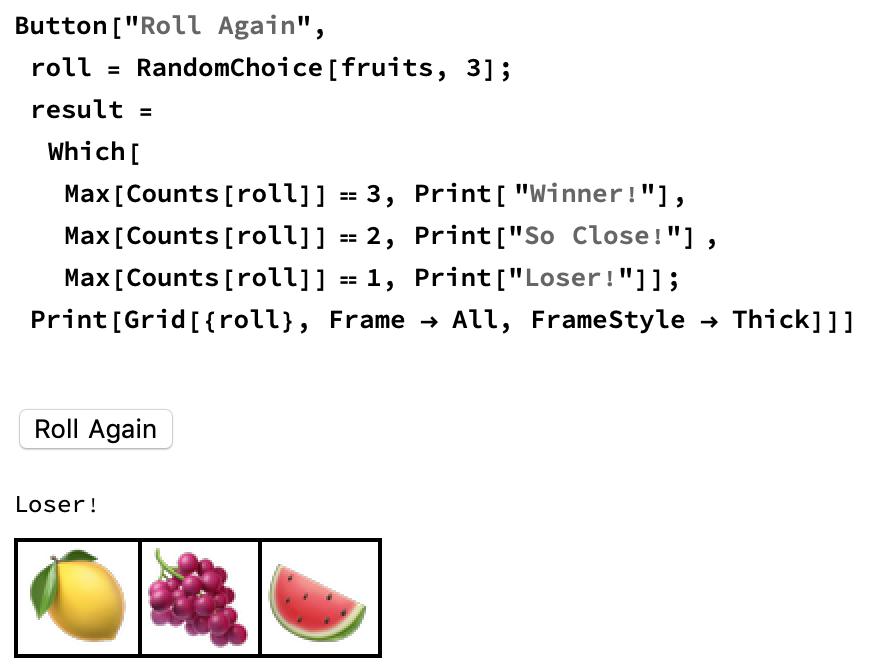 Fruit machine | Raspberry Pi Projects