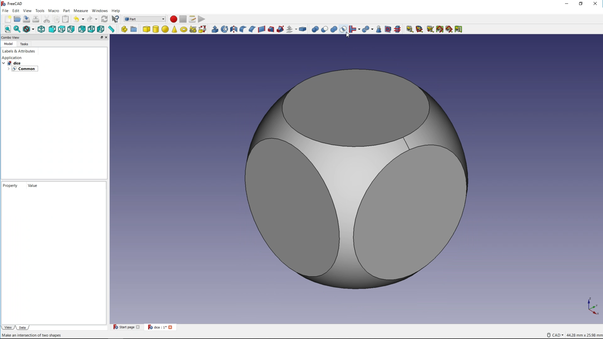 Make a dice with FreeCAD | Raspberry Pi Projects