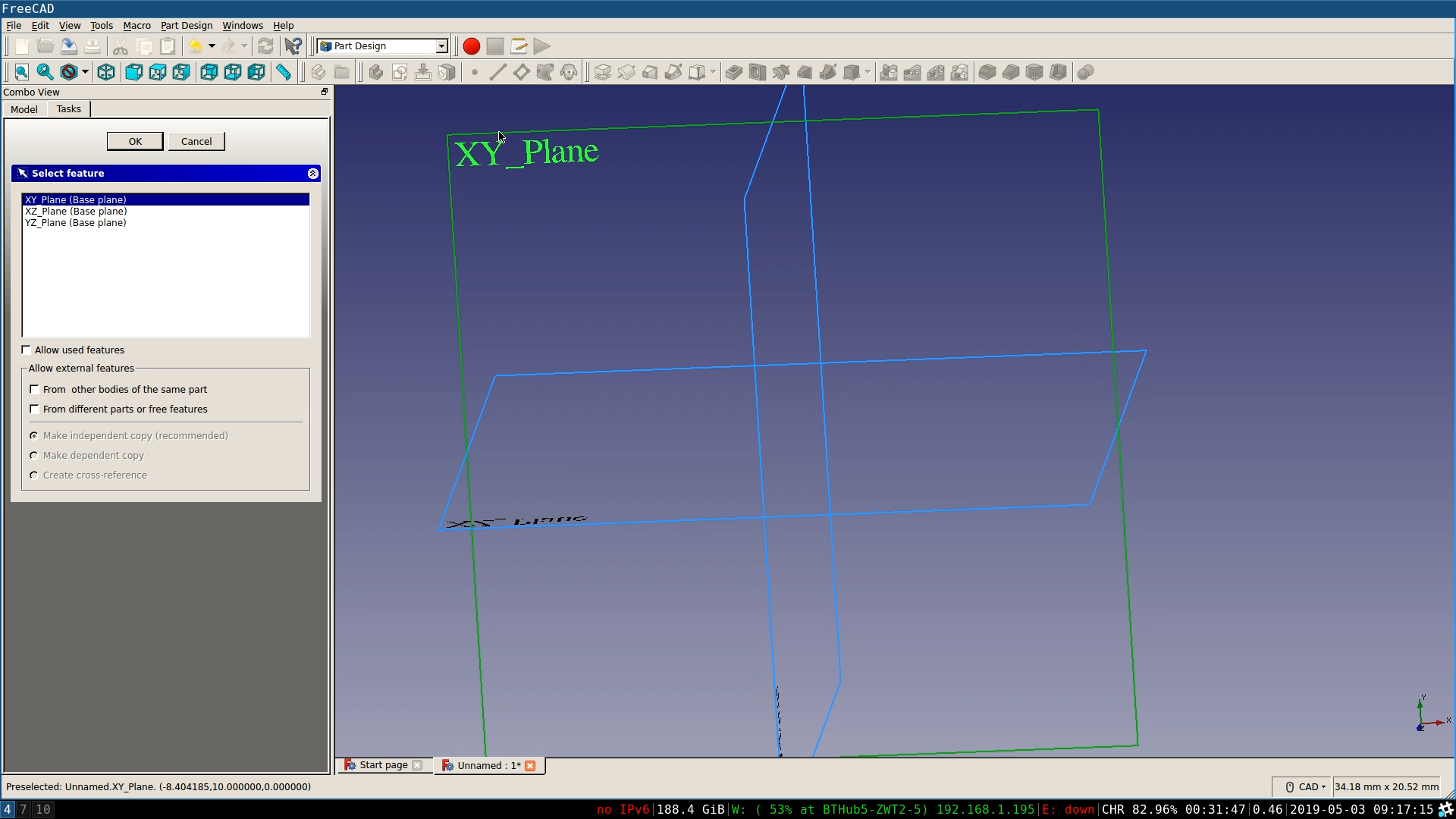 Make a headphone tidy with FreeCAD - Create the initial