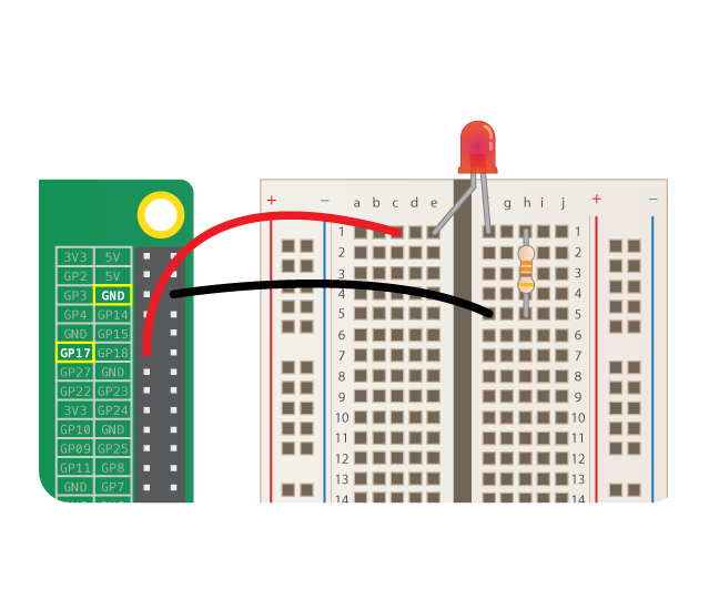 Getting Started With Node Red Wire Up The Led Raspberry Pi Projects