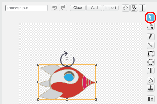 how to move a text box in scratch program