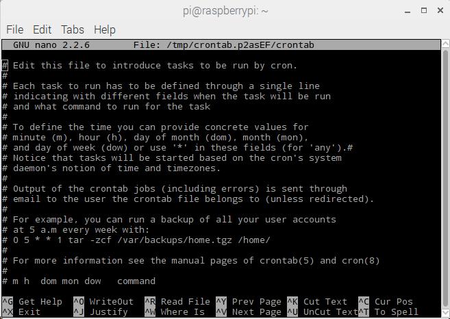 Sense HAT data logger - Starting your data logger on boot