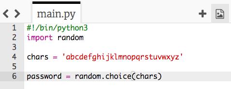 Password Generator - Random characters | Raspberry Pi Projects