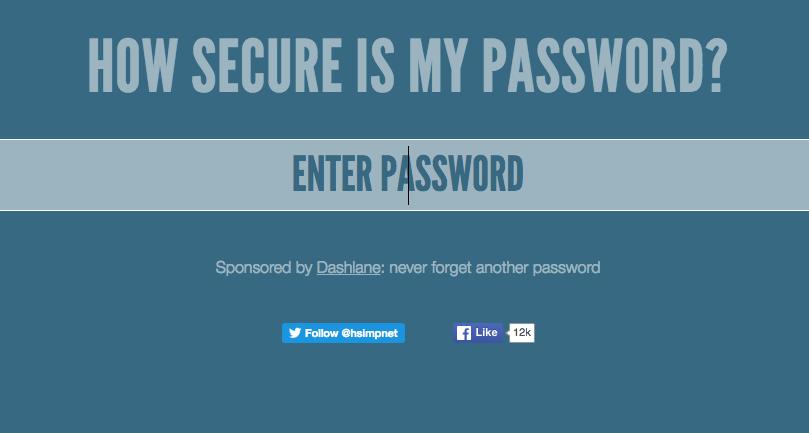 Password Generator - How secure is your password