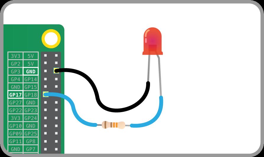 Physical Computing with Python - Lighting an LED | Raspberry