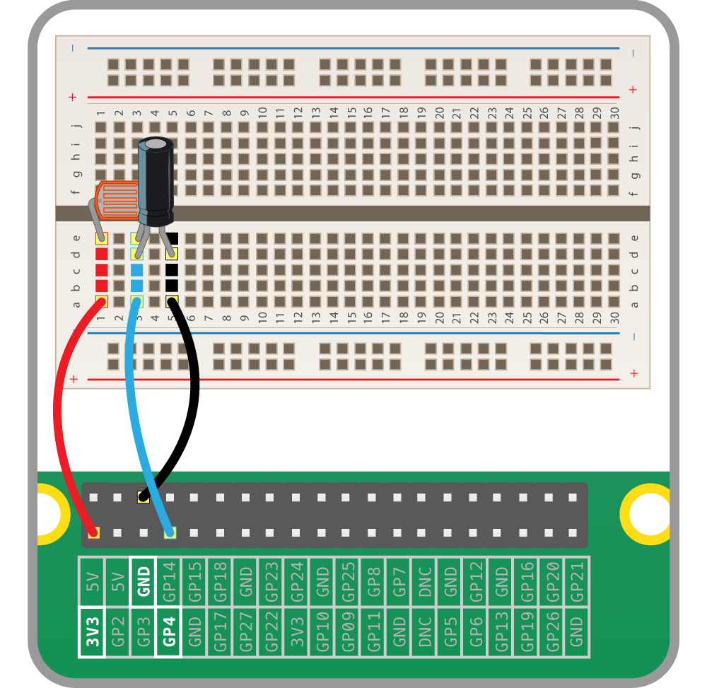 Physical Computing With Python Using A Light Dependent Resistor The Sensor Electronics Coding