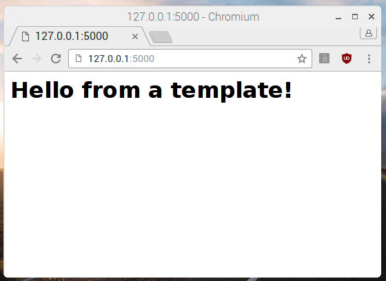 Build a Python Web Server with Flask - Add HTML templates to your ...