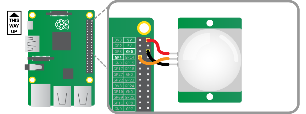 Santa Detector Pir Motion Sensors Raspberry Pi Projects