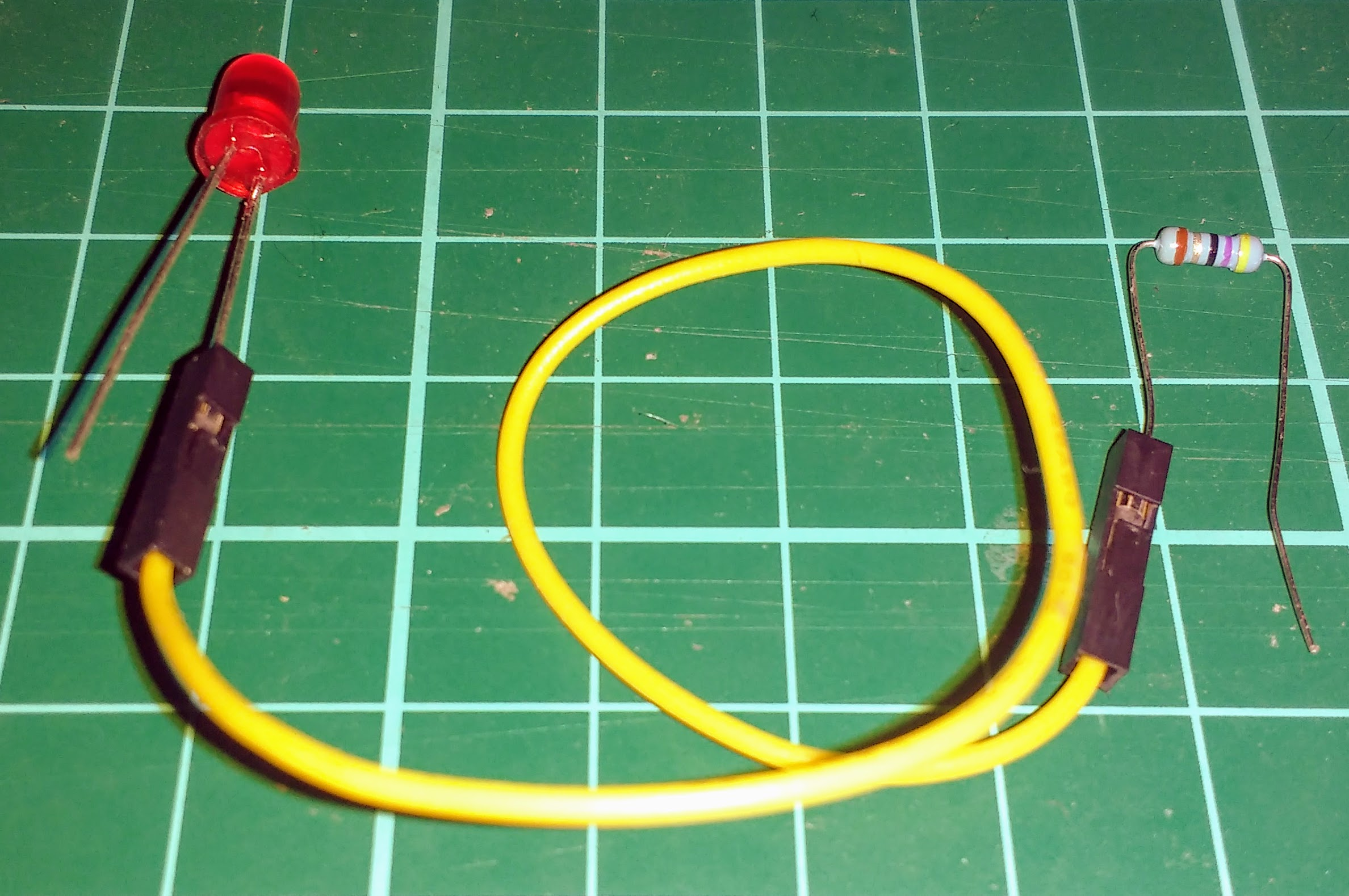 Introduction To Processing Controlling An Led Raspberry Pi Projects Wiring Leds In Parallel Jumper