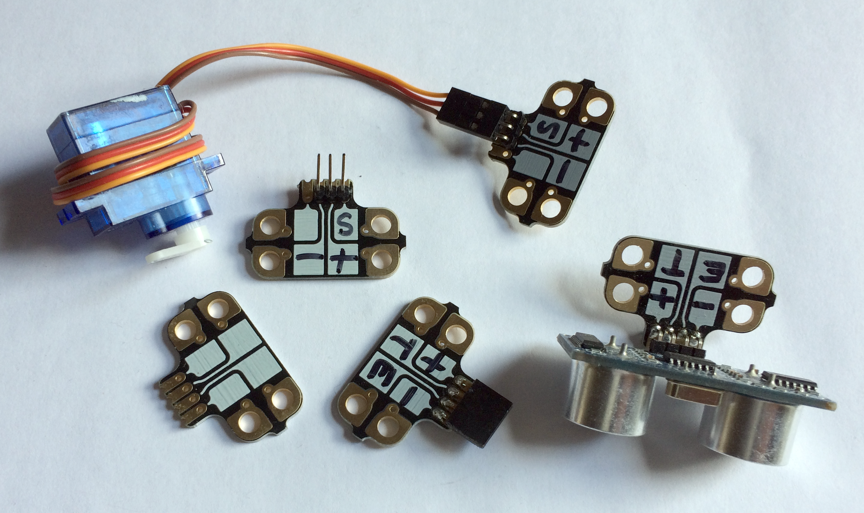 Getting started with Crumble - Use servo motors with your