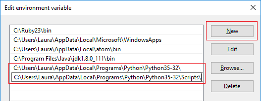 Using pip on Windows - Is Python in your PATH? | Raspberry